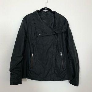 Marc New York: Kayseri Faux Leather Moto Jacket